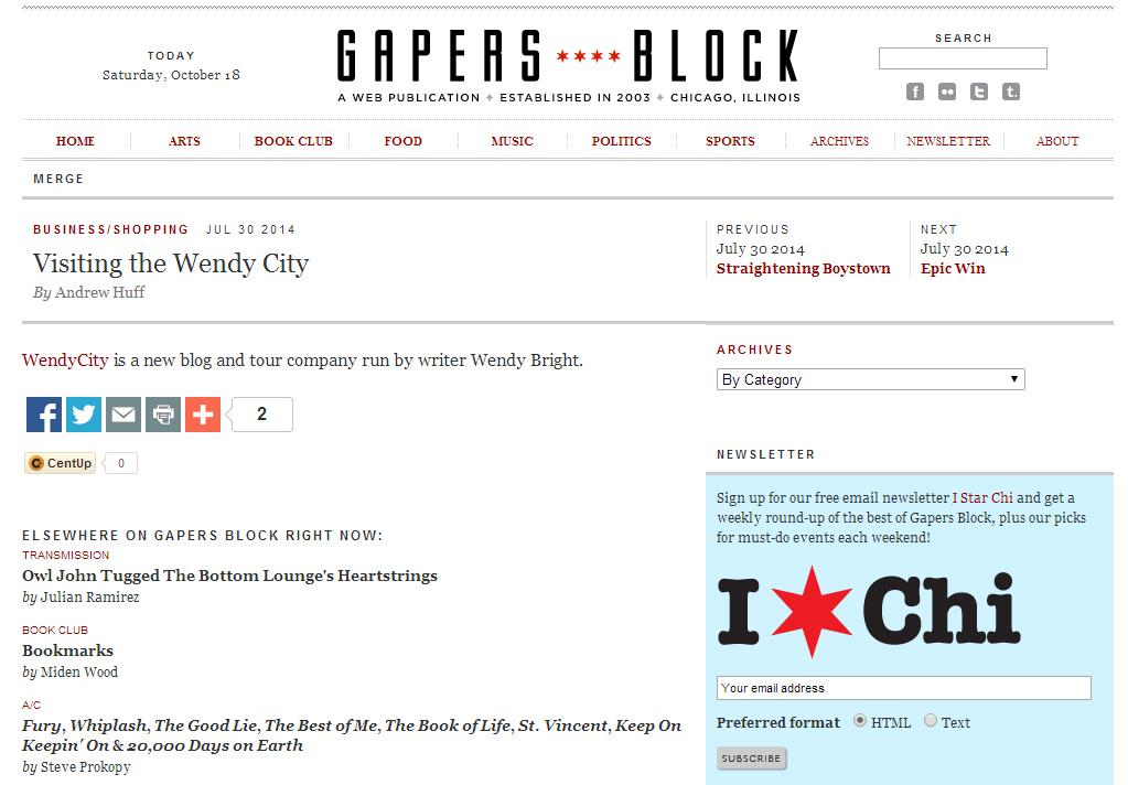 Gapers Block