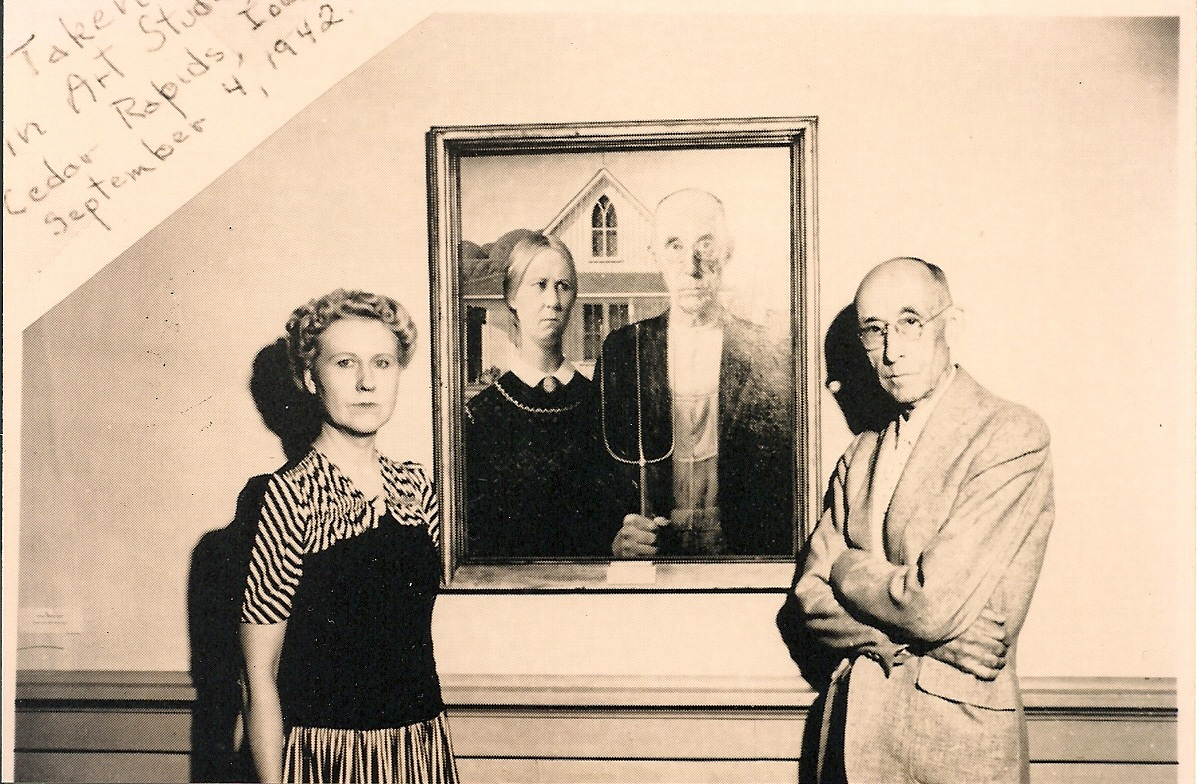 WendyCity Retro Weird Chicago The Long Faces Of American Gothic