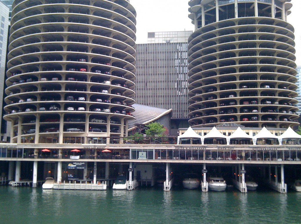 marina city blue green