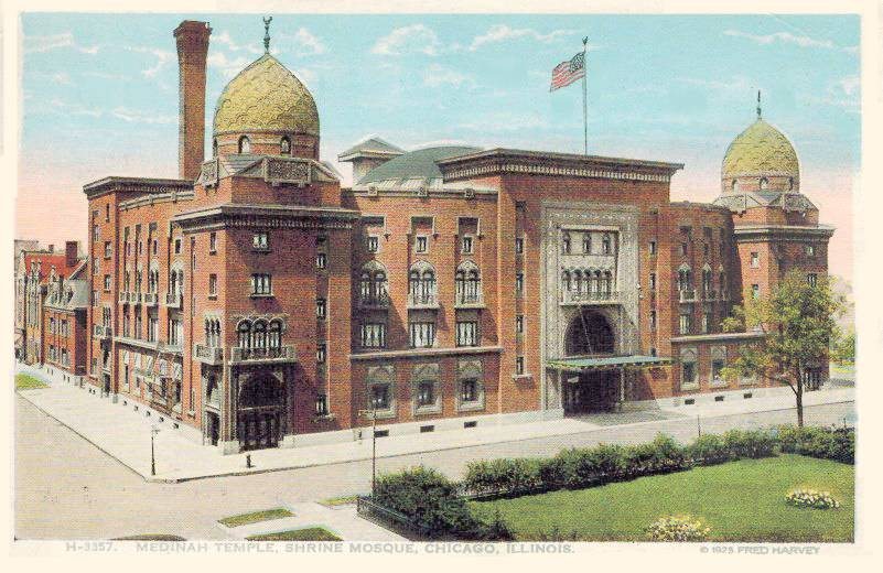 postcard-chicago-medinah-temple-shrine-mosque-aerial-1925