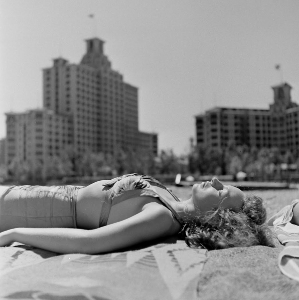 Kathy Osterman Beach (aka Hollywood Beach), 1946