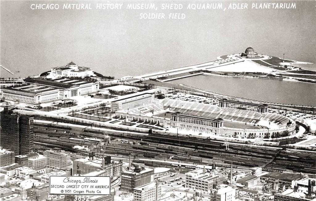 Museum Campus, 1951 - John Chuckman, Chicago Nostalgia