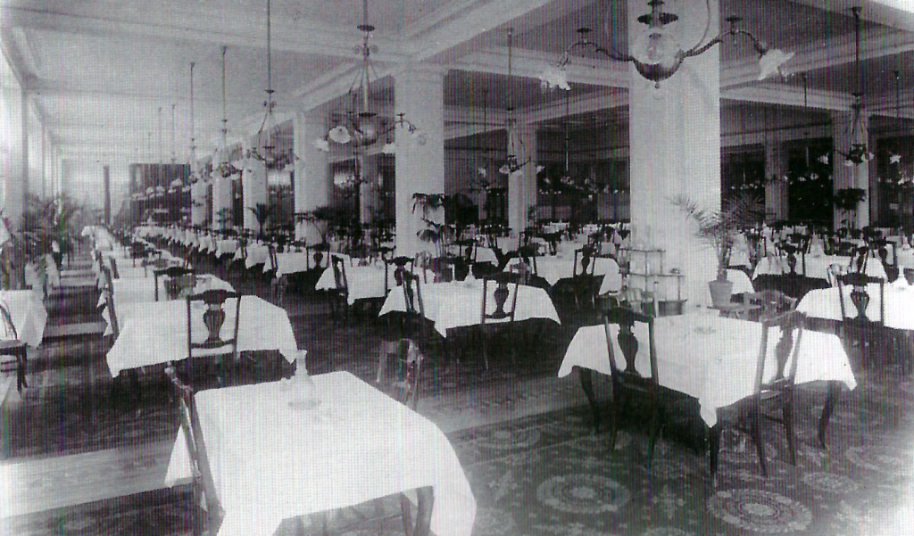The Tea Room in 1902